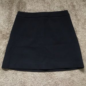 NWOT Express Black a-line skirt